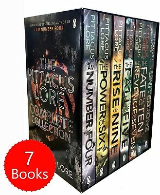 The Lorien Legacies Series By Pittacus Lore 7 Books Set -I Am Number Four New PB