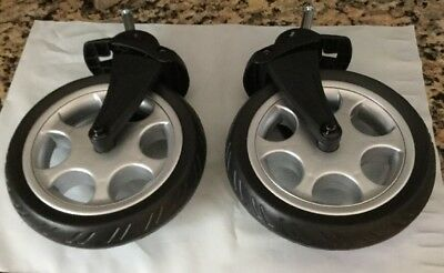 Mamas And Papas Front Stroller Wheels With Plastic Attachments- Brand New- R N L