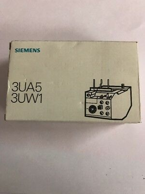 NEW - Siemens 3UA50-00-1E Solid State Overload Relay  -FREE SHIPPING-
