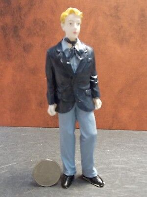Dollhouse Miniature Doll Man In Suit Figurine C 1:12 scale E56 Dollys Gallery