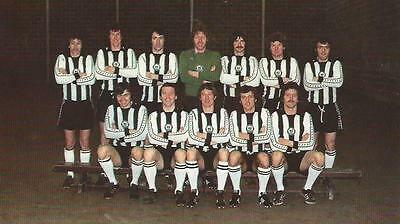 Newcastle United 1976-77 Team Photo Print.