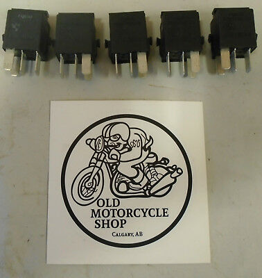 1998 - 2001 Bmw K1200Rs Tyco Relay V23073-B1005-X18 Set Of 5 Oem