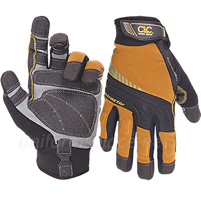CLC Work Gloves Mens Flex Grip Contractor XC Stretch-Fit Gloves #160