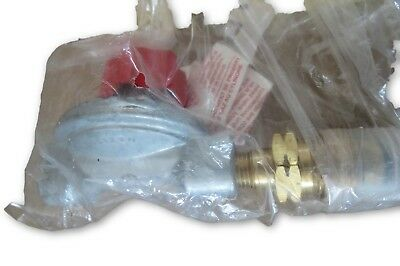 Mr. Heater F273719 High Pressure Propane Gas Regulator with POL Fitting