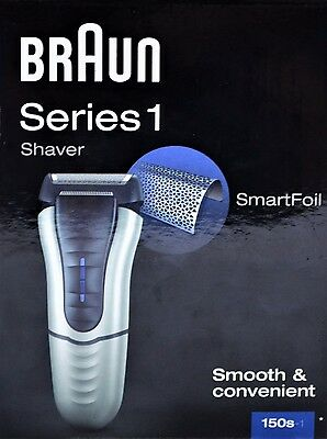 NEW Braun Series 150s Mens Shaver Fully Washable W. Automatic Worldwide Voltage