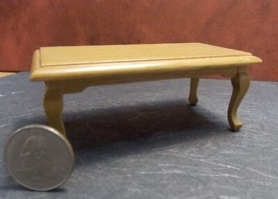 Dollhouse Miniature End Table with drawer Walnut 1:12 scale Y34 Dollys Gallery