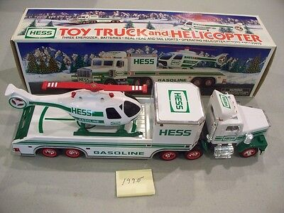 Hess Toy Truck And Helicopter 1995 New In Box Free Shipping