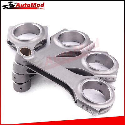 4x Connecting Rods for JDM Honda Civic CRX D16 D16A D16Y7 D16Y8 w/o Bolts Sale