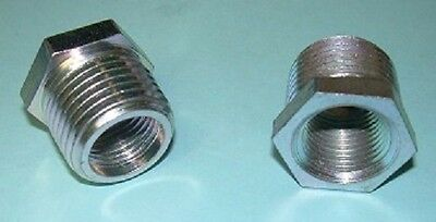 "1/2"" NPT to 3/8"" NPT Reducer Bushing, Galvanized, SwivelJet"