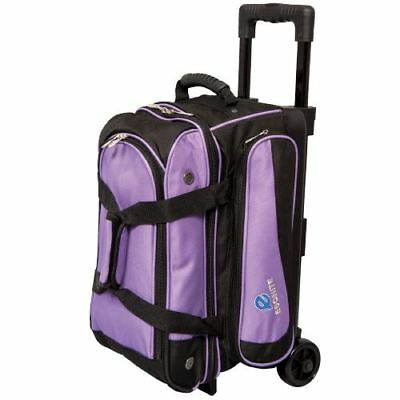 Transport 2 Ball Roller Tenpin Bowling Ball Bag