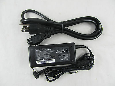 AC Adapter Charger 19V 2.1A 40W For ASUS Eee PC 1005HA Power Supply Cord NEW