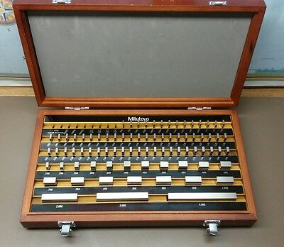 Mitutoyo Gauge Block Set 516-901-22 Grade 1