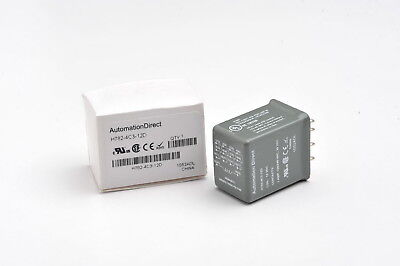 Automation Direct H782-4c3-12d Cube Relay 3a 4pdt 12vdc Coil