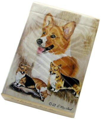 New Welsh Corgi Poker Playing Card Set of Cards By Ruth Maystead Corgis WEC-PC
