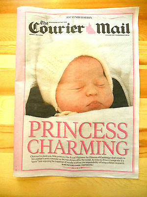 Royal baby girl Princess Charlotte Wills & Kate souvenir posters photos George
