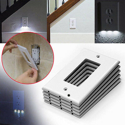 NEW Night Angel Sensor As seen on TV Outlet Coverplate Plug Cover Light LED USA