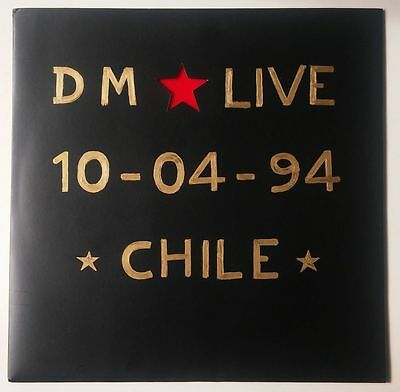 "Depeche Mode - The Exotic Tour (Live In Chile 94') 2x12"" Red/Black (Bootleg)"
