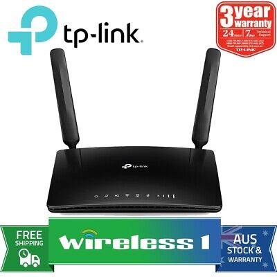 TP-Link Archer MR400 AC1350 Wireless Dual Band 4G LTE Router