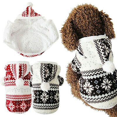 Winter Warm Dog Coat Chihuahua Clothes Pet Hoodie Puppy Costume Jacket Surprise