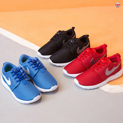 Kids Men Sport Running Shock Absorbing Boys Girls Infants Lace Up Shoes Trainers