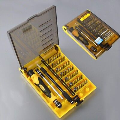 45in1 Interchangeable Professional Hardware Screw Driver Precise Manual Tool Kit