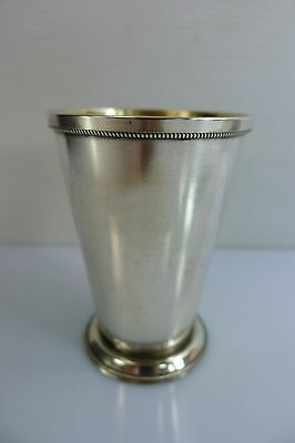 A Vintage Solid 875 Silver Russian Hallmarked Cup/goblet