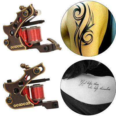 Pro coil Tattoo machines motor shader and cut back liner needle power supply