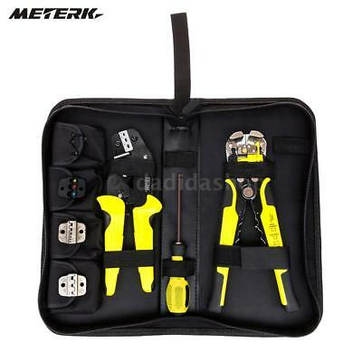 Wire Crimpers Engineering Ratcheting Terminal Crimping Pliers Stripper I3D6