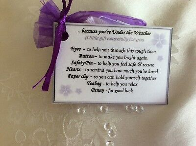 Hospital Survival Kit Novelty Gift To Cheer Someone Up And Say Get
