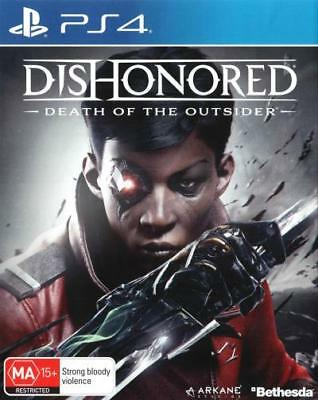 Dishonored Death of the Outsider  - PlayStation 4 game - BRAND NEW