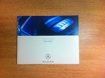 Mercedes Service Book New Not Duplicate All Models Petrol And Diesel
