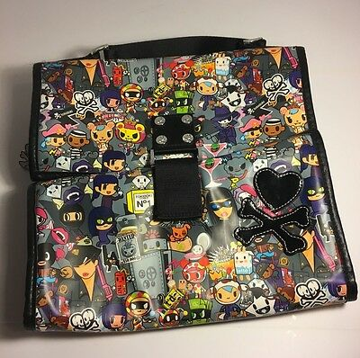 Todidoki Robbery Collection Hanging Cosmetic Toiletry Travel Organizer Bag