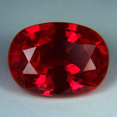 11.60ct.AWESOME BLOOD RED RUBY OVAL LOOSE GEMSTONE