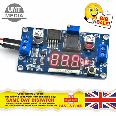 LM2596 Step-down LM2596S Power Voltage Converter Module DC 4.0~40 to 1.3-37V DEL
