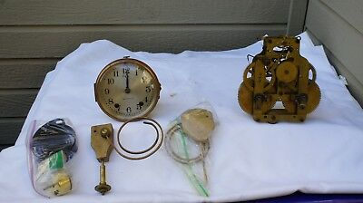 Lot of 2 Seth Thomas Movements Offered for Parts or Restore.  #3