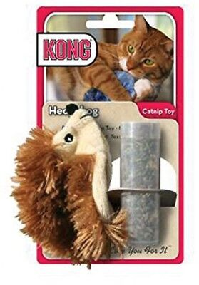 KONG Refillable Catnip Hedgehog Cat Toy
