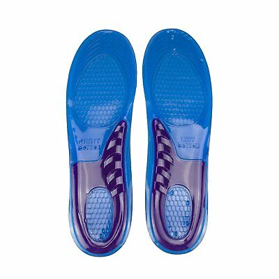 Massaging Silicone Gel Insoles Arch Support Orthopedic Plantar Fasciitis Running