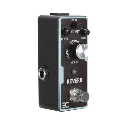 EX Electric Guitar Single Reverb Effect Pedals True Bypass Guitar Parts