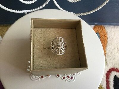 Sterling Silver Gates Ring