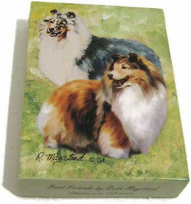 Shetland Sheepdog Dog Playing Card Set of Cards By Ruth Maystead Sheltie Dogs