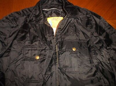 Police Security Guard Officer EMT LARGE Size Fall Jacket Coat Used Coats Jackets
