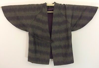 Authentic Japanese green dochugi jacket, Japan import, good condition (AB1655)