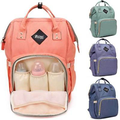 Mummy Maternity Nappy Diaper Bag Large Capacity Baby Bag Travel Backpack EtM#