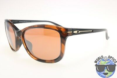 Oakley Women's Sunglasses DROP IN OO9232-04 Tortoise w/VR28 Black Iridium Lens