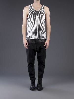 New Sons Of Heroes Zebra Vest Black/white Size Extra Large Xl