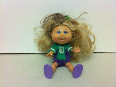 """Cabbage Patch Kids Hard Plastic Doll Toy O.A.A. INC 5"""" made in China"""
