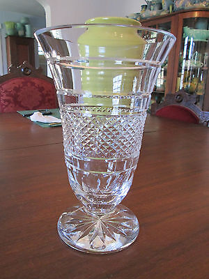 Waterford Crystal Vase 10 Quot High 163 14 99 Picclick Uk