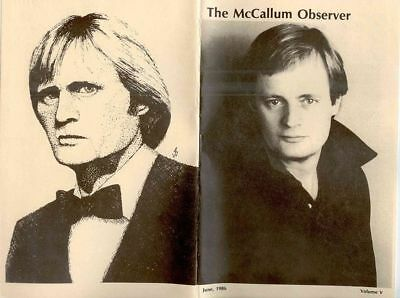 """Man From UNCLE """"The McCallum Observer"""" Newsletter Various issues #1-#88 GEN"""