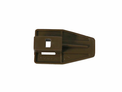 Rite-Trak II Drawer Stop  with Roller For Track Style Dresser Drawers