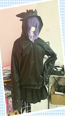 Toothless hoodie How to train your dragon Unisex Black Handmade